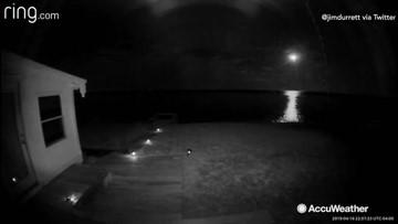 Bright meteor dazzles viewers across mid-Atlantic