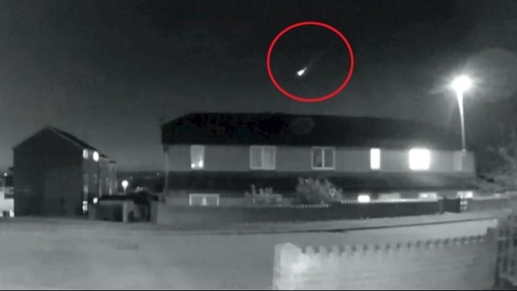A Doorbell Camera Captures a Fireball Illuminating the Night Sky!