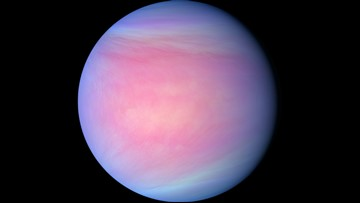 Venus's Asymmetrical Cloud Tops May Explain Mysterious 'Super-Rotation'