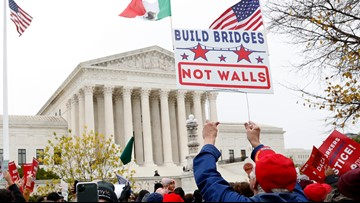 Court's conservatives seem to back Trump on immigration