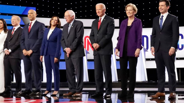 WATCH LIVE: Democratic front-runners face off at Ohio debate