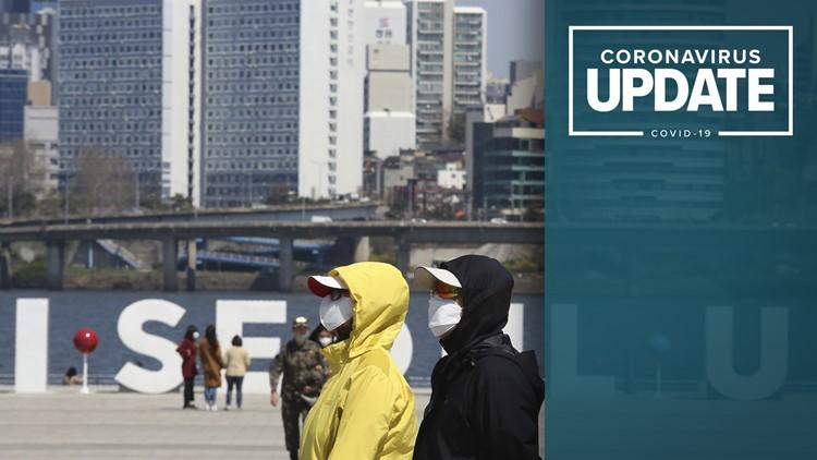 Coronavirus live updates: Dozens in South Korea test positive for second time