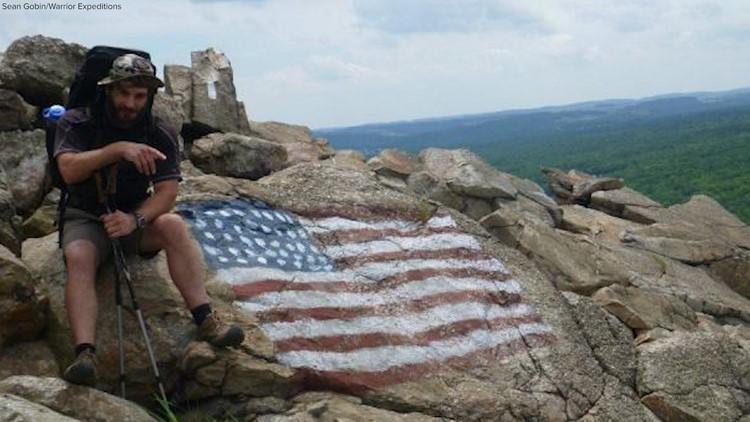 Sean Gobin hikes Appalachian Trail