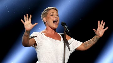 Singer P!nk says she had COVID-19, gives $1M to relief funds
