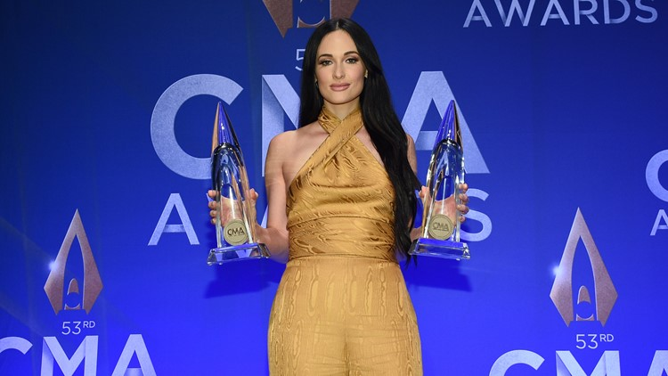 Kacey Musgraves 53rd Annual CMA Awards - Press Room