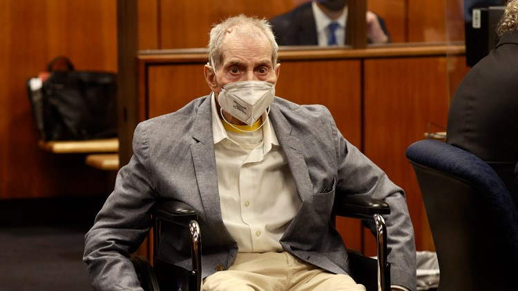 NY millionaire Robert Durst convicted of best friend's murder