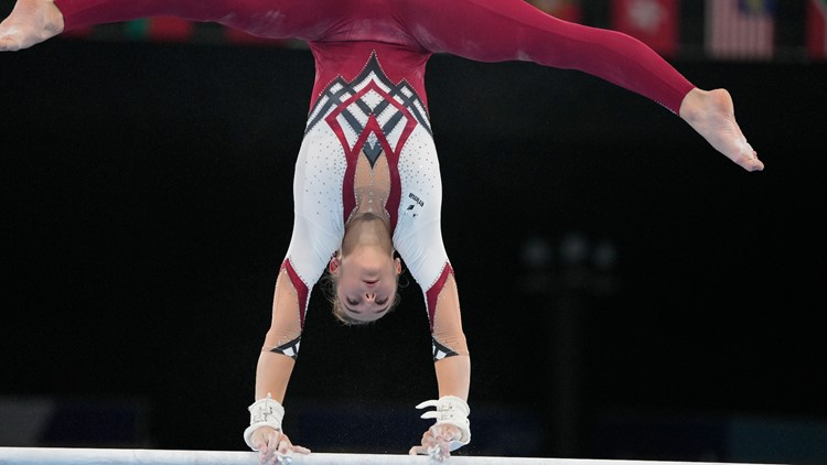 Gymnastics team, tired of 'sexualization,' wears unitards