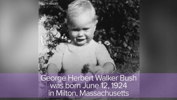 Touching Cartoon Reunites George H W Bush With Wife Barbara And
