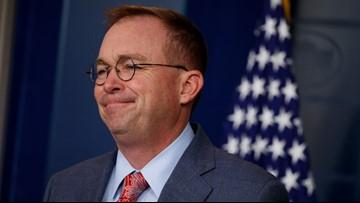 White House chief of staff Mulvaney says Ukraine remarks were misconstrued