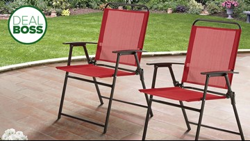 How to get two folding patio chairs for $37 today