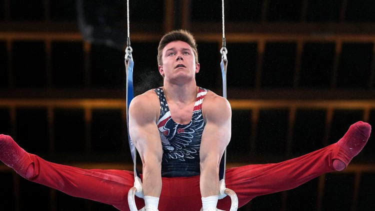 US competes in men's team gymnastics final. Here's how they did.