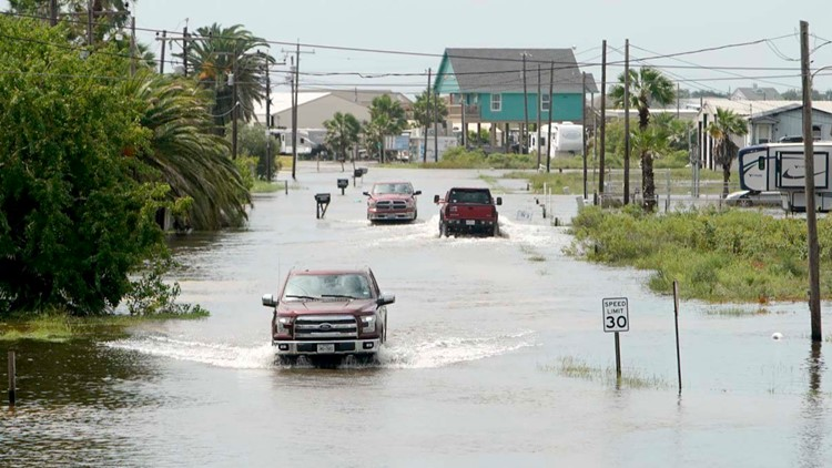 Water rescues underway as Imelda drenches parts of Texas