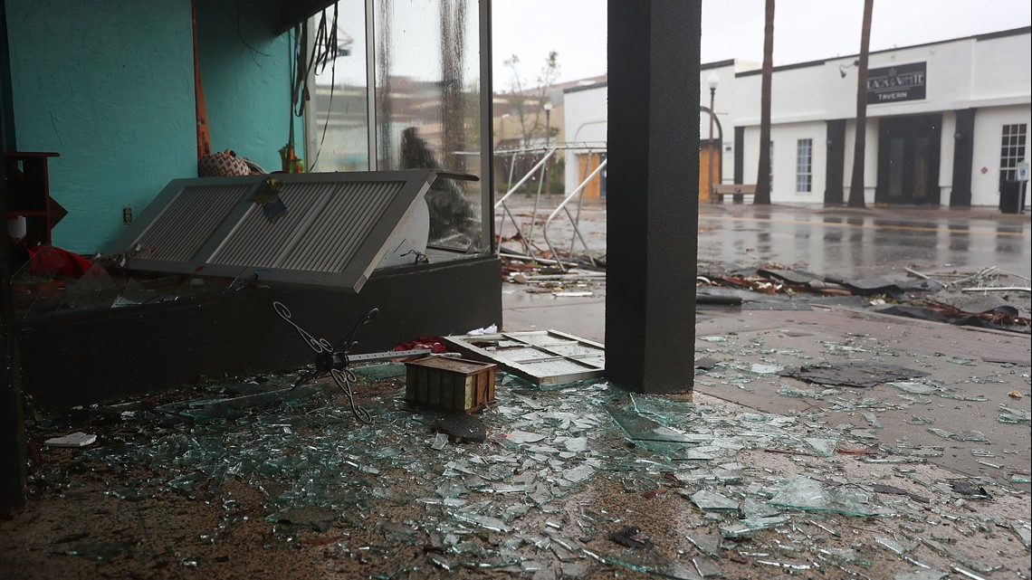 Live Cameras Capture Storm Damage In The Aftermath Of