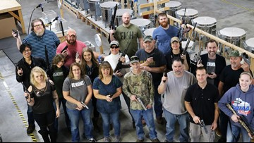 Wisconsin company buys employees firearms for Christmas