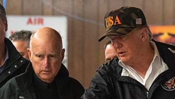 Gov. Brown: Trump has 'got our back' after California wildfires