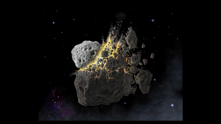 Asteroid dust could fix global warming, scientists say