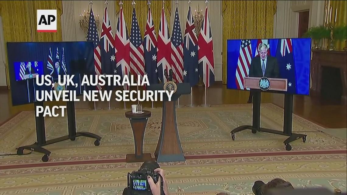 US, UK, Australia unveil new security pact