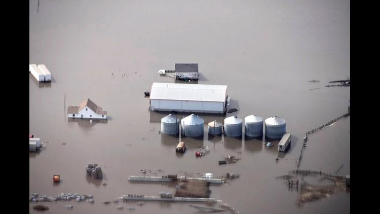 Winter Weather Flooding Iowa March 18