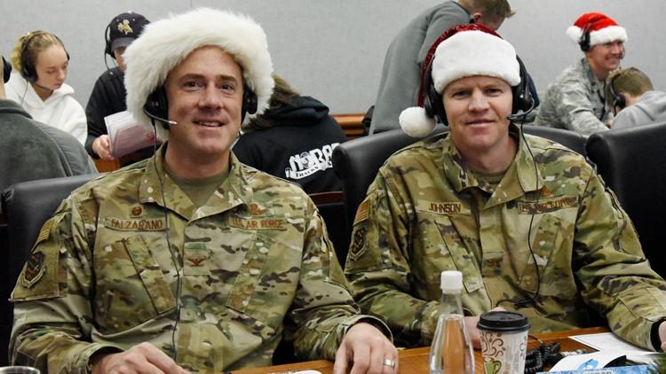 Santa tracker 2019 military members
