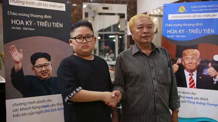 Vietnam Trump Kim haircuts