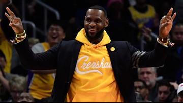 LeBron James feeling 'beyond blessed' to be shooting 'Space Jam 2'