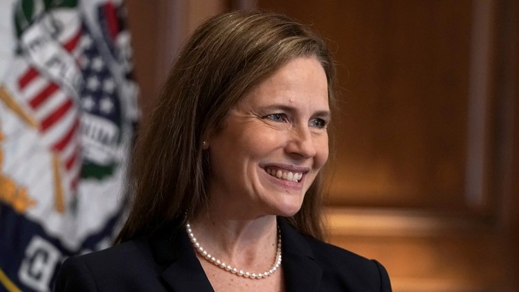 Supreme Court Justice Amy Coney Barrett delivers 1st opinion