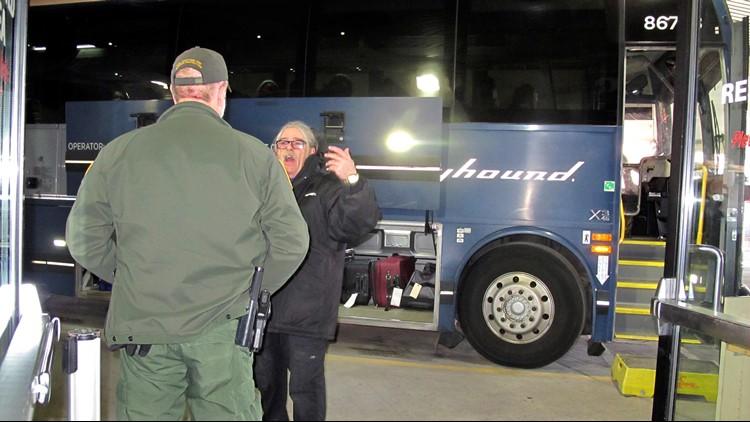 Border Patrol Bus Checks Seattle