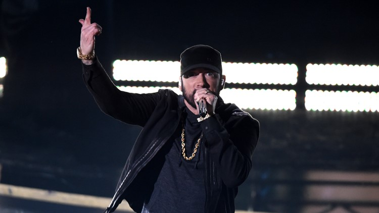 Eminem AP 92nd Academy Awards - Show