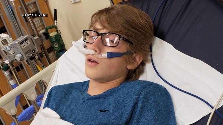 Indiana teen vaping dangers Cooper Stevens WTHR