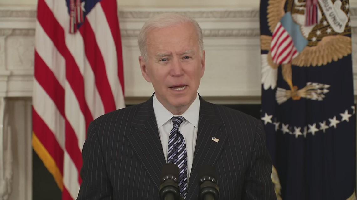 Biden moves COVID-19 vaccine eligibility date to April 19