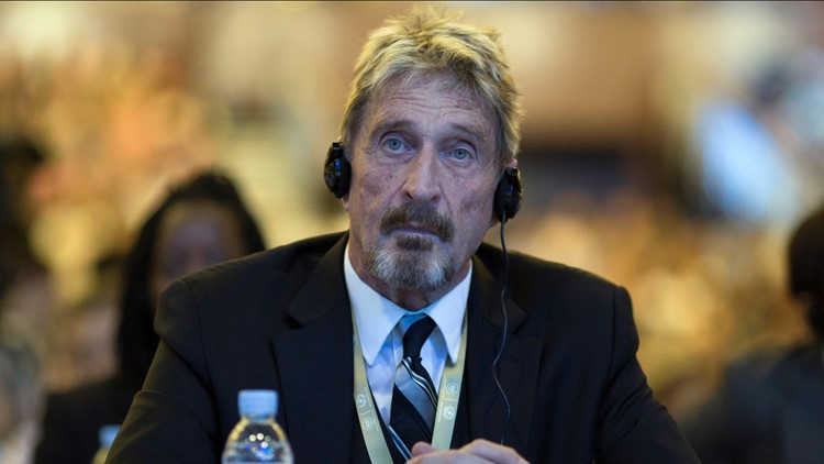 Hours after Spain approves extradition to US, John McAfee found dead in prison