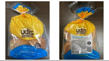 Hamburger buns recalled; could contain white plastic pieces