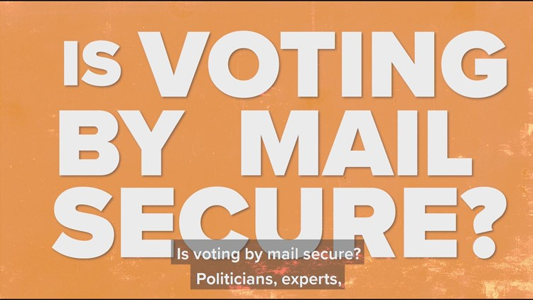 Is voting by mail secure?