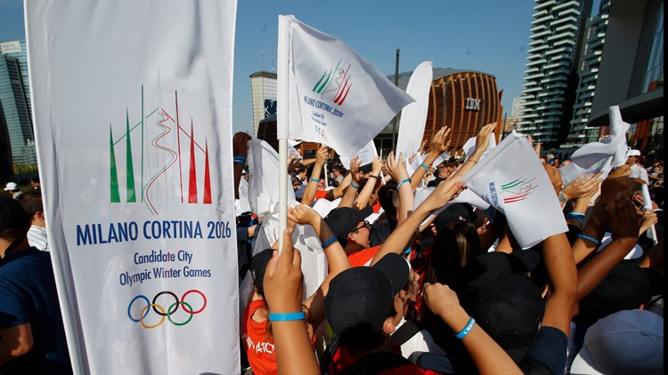 Milan and Cortina, Italy will host 2026 Winter Olympics