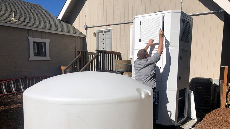 Units that pull hundreds of gallons of water out of the air being bought in California