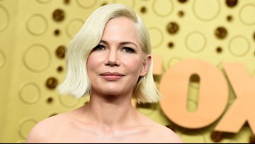 Michelle Williams receives standing ovation for Emmy speech championing equal pay
