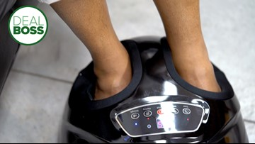 How to save $70 on a robo foot massager right now