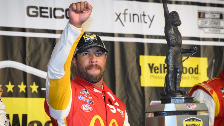 Bubba Wallace is first Black driver to win NASCAR Cup Series race since 1963