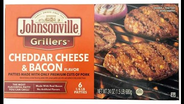 Johnsonville recalling pork patties over possible contamination