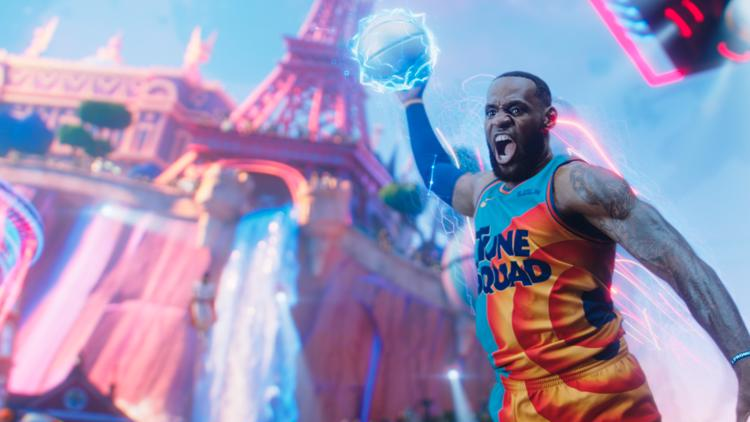 'Space Jam' dunks on 'Black Widow' to take box office No. 1