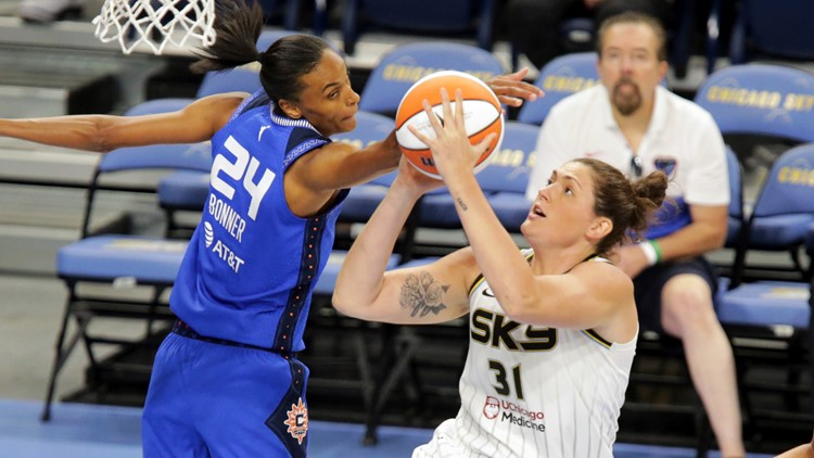 Four WNBA players make up US Olympic 3x3 basketball team