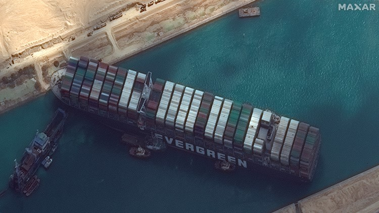 Suez Canal's claim over once-stuck ship referred by court