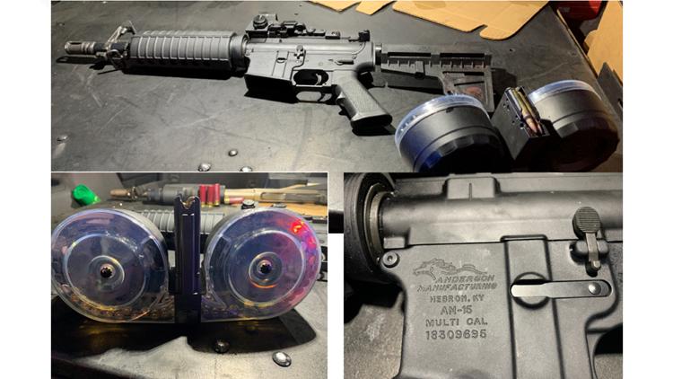 Dayton shooting guns rifle weapon