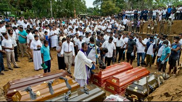 Sri Lanka asks for resignations of top security officials