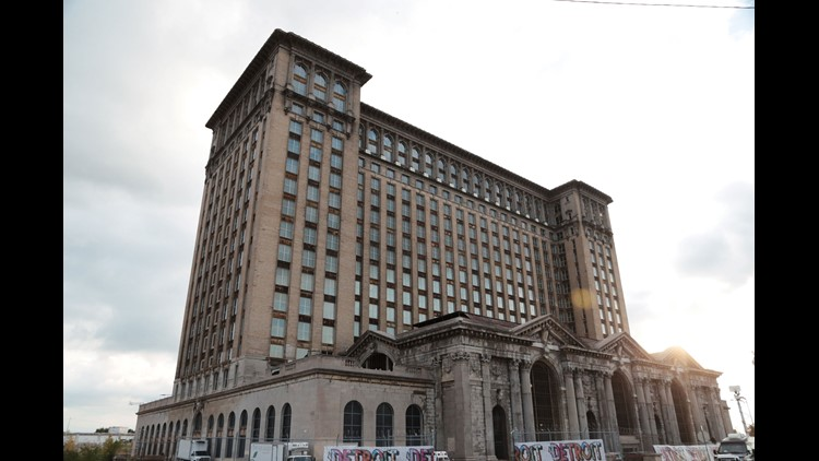Ford motor co acquires dilapidated detroit for Ford motor company employment verification