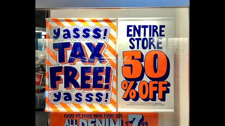 Tax free sign 1