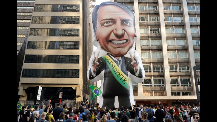 Far-right candidate wins first round of Brazil's presidential election