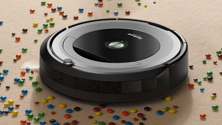 Ideal for larger homes, the iRobot Roomba runs continuously for up to two hours at a time, then returns to its base for recharging. It's easy to get it going--just press a button on top of the unit.