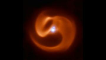 Doomed 'pinwheel' star system to explode in spectacular gamma-ray blast, study says