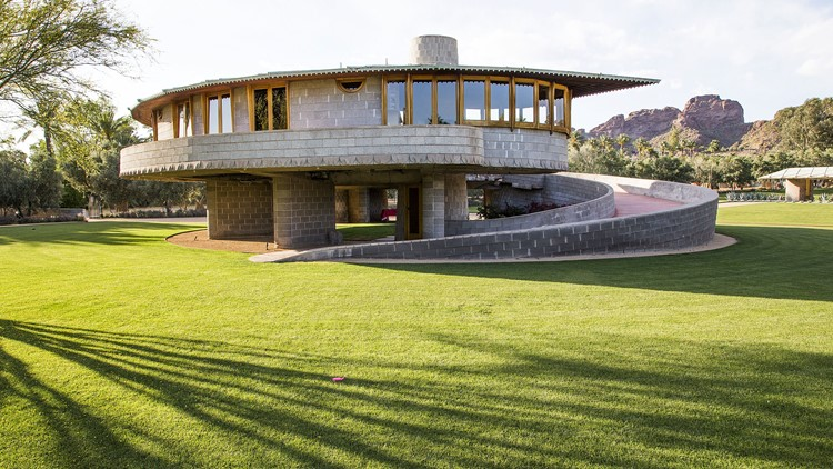 Controversial frank lloyd wright spiral house for sale in - Frank lloyd wright houses for sale ...